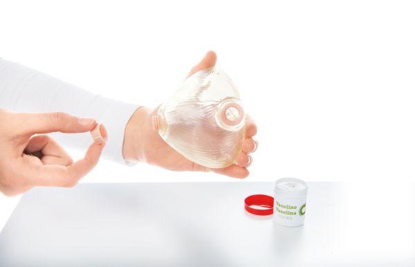 Blasenverschlußkappe, 1 Stück