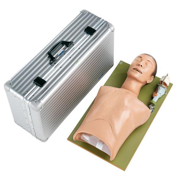 Intubationsphantom - Grundmodell mit Kehlkopfmodell und Koffer