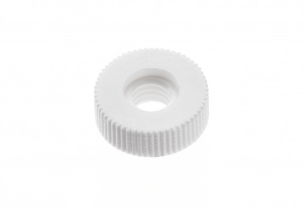 Knurled screw plastic, M 6, 1 piece
