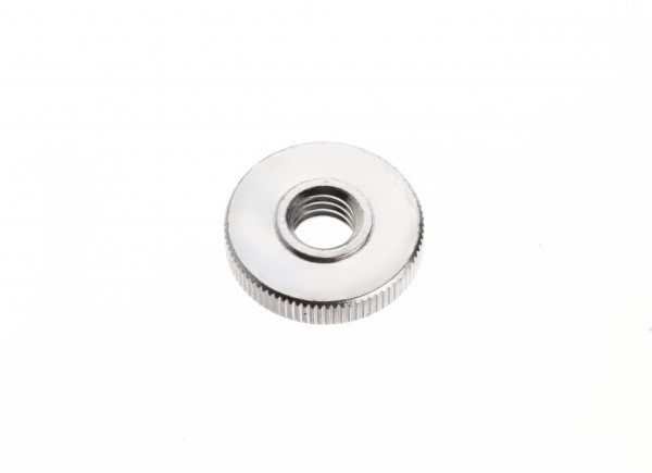Knurled screw