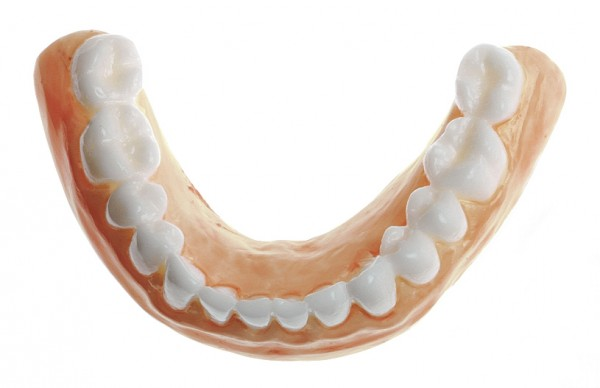 Teeth for lower jaw